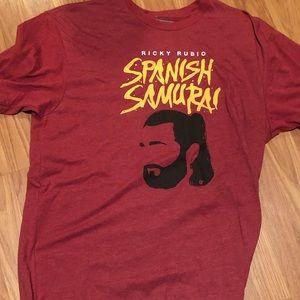 Ricky Rubio Spanish Samurai shirt
